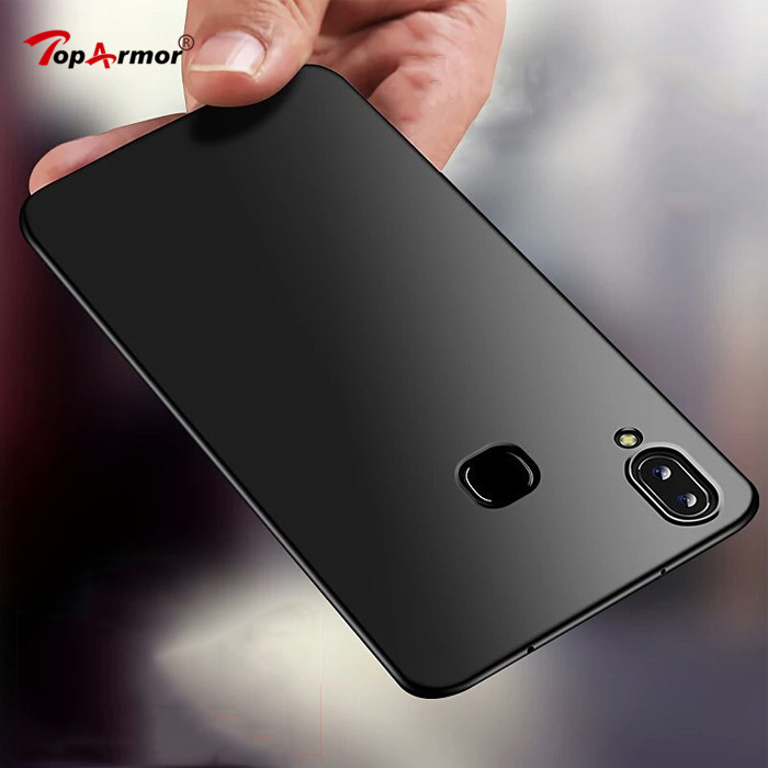 Matte Soft TPU Silicone Frosted Cover For <font><b>Vivo</b></font> V3 Max V7 Plus V9 V11 Pro Y31 Y35 Y51 Y53 Y55 Y67 Y69 Y71 <font><b>Y83</b></font> NEX A S Mobile <font><b>Case</b></font> image