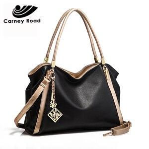 Image 4 - แฟชั่นผู้หญิงกระเป๋าถือขนาดใหญ่ความจุกระเป๋าหนัง PU Hobo Messenger กระเป๋าคุณภาพสูง