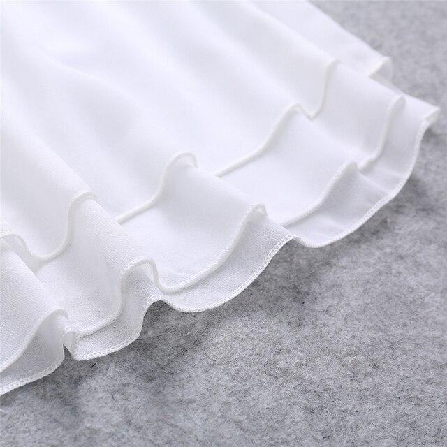 2017 New Summer Sleeveless Shirt Sexy V-neck Camis Loose Casual Chiffon Tank Tops S-4XL Vest Ladies Clothing 2