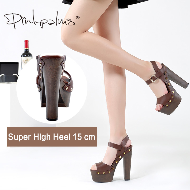 c0b4be5d6f9 Pink Palms summer shoes sandals wedges shoes for women high heels ...