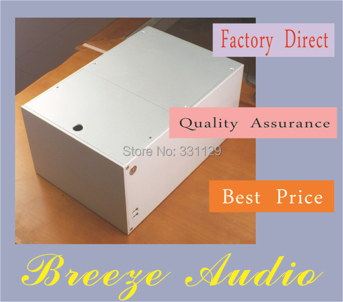 цена Breeze Audio-aluminum chassis ITX computer case BZ11 NAS casd six position hard disk