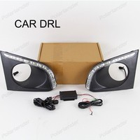 1 set car accessory Car styling daytime running lights For C/hevrolet T/rax 2014 2015