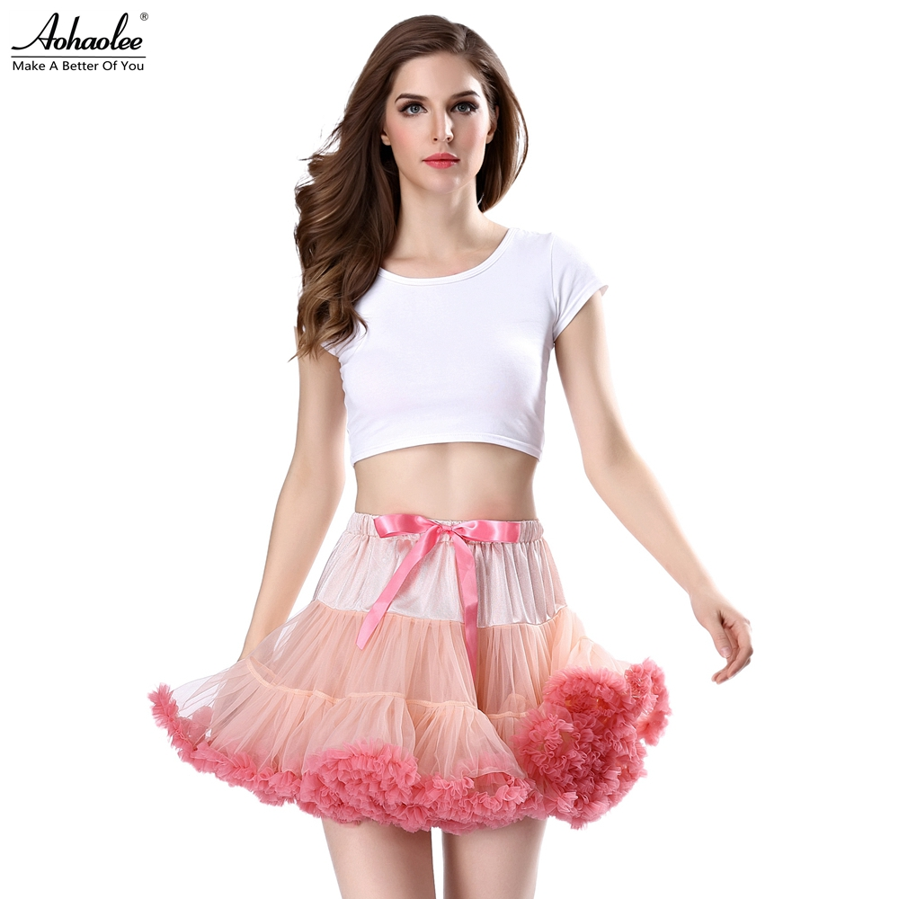 aliexpress buy aohaolee fashion 3 layers tutu