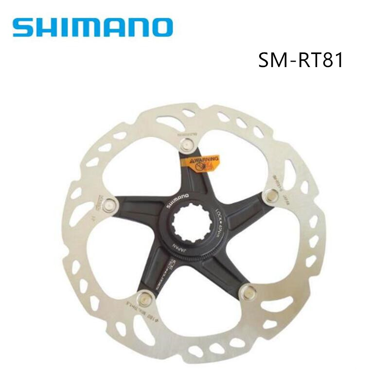 Shimano Deore XT SM-RT81 Rotor Centerlock VTT Vélo Vélo Frein À Disque Rotor 160mm 180mm 203mm Vélo XT Groupset Pièces