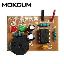 DIY Kit 555 Multibrator Suite NE555 Astable Circuit Practical Electronic
