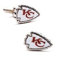 CF0826 1 Kansas City Chiefs Plated Cufflinks Wedding Gift Football Men Shirt 2015 With Design Cuff