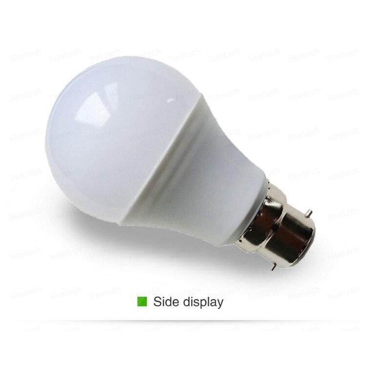 Светодиодные лампы B22 AC100V-240V, домашняя лампа с постоянным током и напряжением, внутренняя лампа SMD2835, холодный белый/теплый белый, 3 Вт, 5 Вт, 7 В...