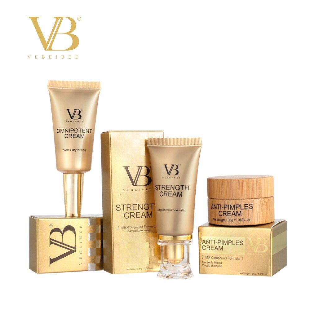 Crème Anti-boutons VEBEIBEE & crème Anti-stress & crème Anti-stress, formule mixte, nouveaux ensembles, crème naturelle, ingrédient toutes herbes
