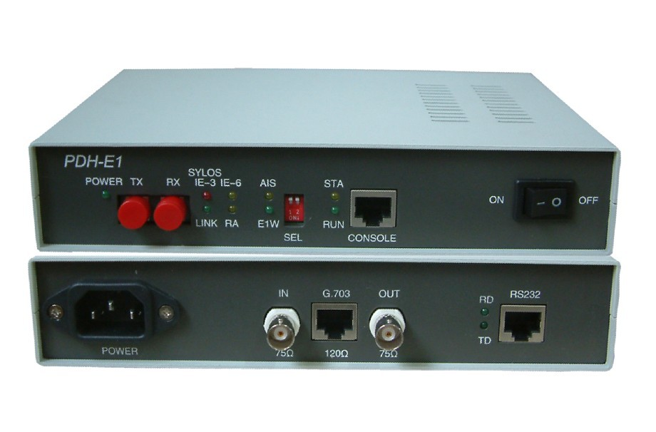 HighTek HT-013 PDH optical fiber switch cat E1 with RS232 PDH to E1 potocol converter