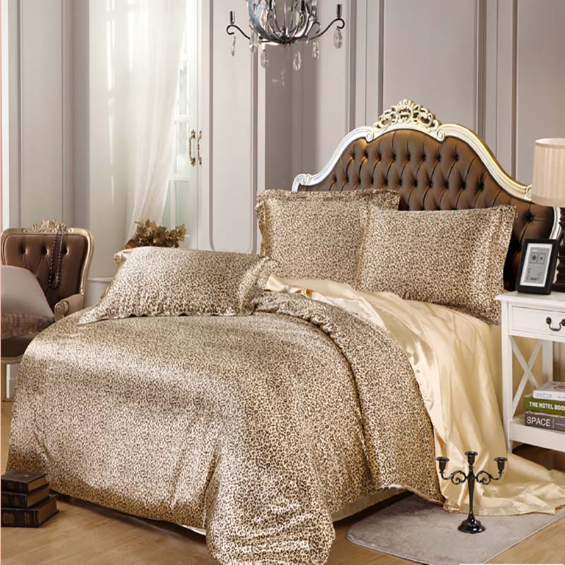 Silk satin bedding sets luxury 3pcs 4pcs RUSSIA SIZE USA SIZE zebra Leopard  duvet cover. Online Get Cheap Zebra Bedding Sets  Aliexpress com   Alibaba Group