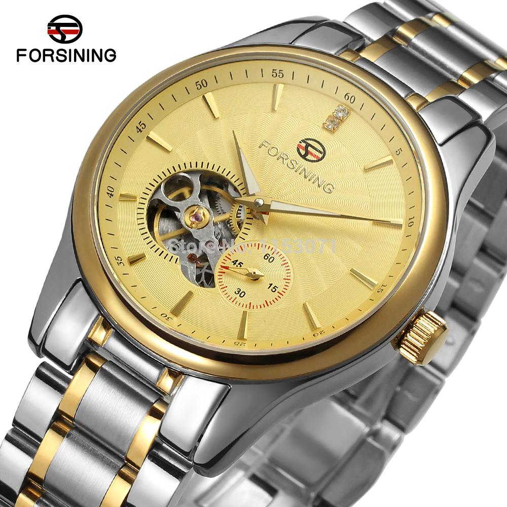 цены FSG9406M4T2 Latest luxury Men's Automatic stainless steel original watch with gift box free shipping promotion price