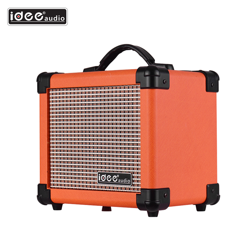 Speaker-Amplifier Combo-Amp Electric-Guitar Us-Plug Desktop Adjustable 10-Watt IDEEAUDIO title=