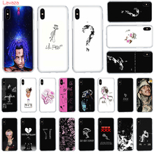 Lavaza XXXTENTACION pink peep Lil Case for Apple iPhone 6 6s 7 8 Plus X 5 5S SE Cover XS Max XR Cases