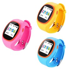 Niños Smart Watch GPS niños inteligentes muñeca watchsim tarjeta ubicación  localizador SOS llamada recordatorio para iOS cc63ec22a3c2