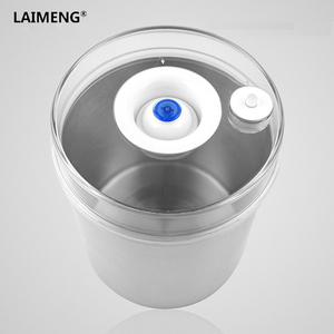 Image 5 - Laimeng Stainless Steel 304 Vacuum Container Food Storage Containers Vacuum Canister For Vacuum Sealer Food Container S163