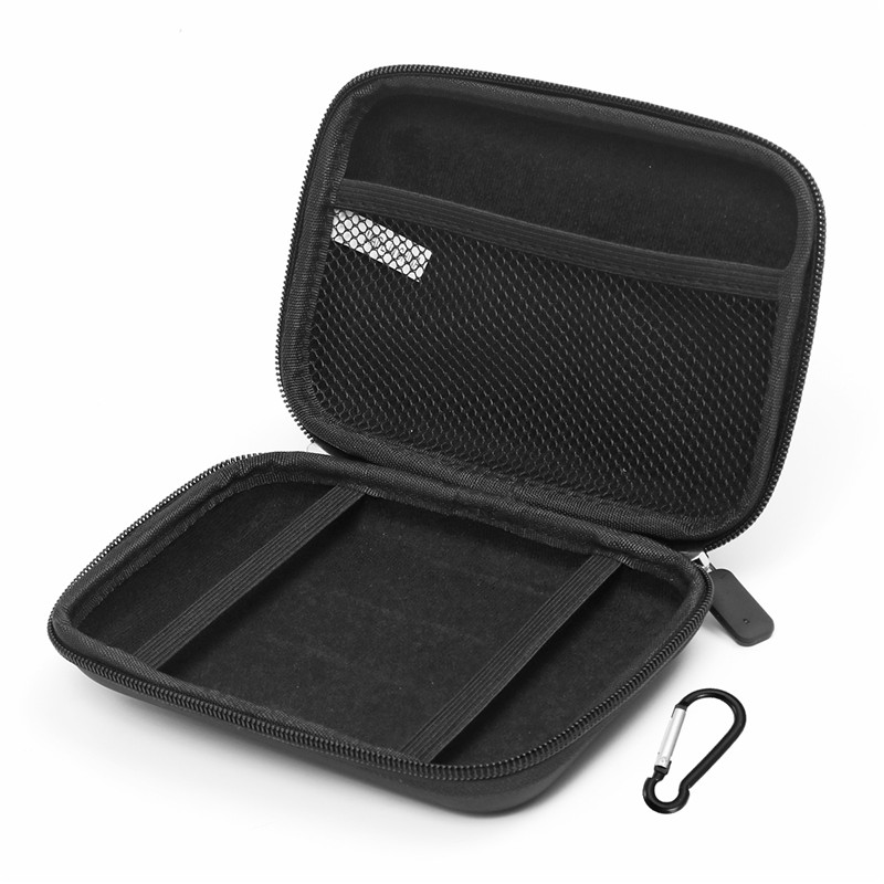5 Inch Waterproof Carrying Case GPS Cover For Tomtom GPS Navigator Protection Package Black