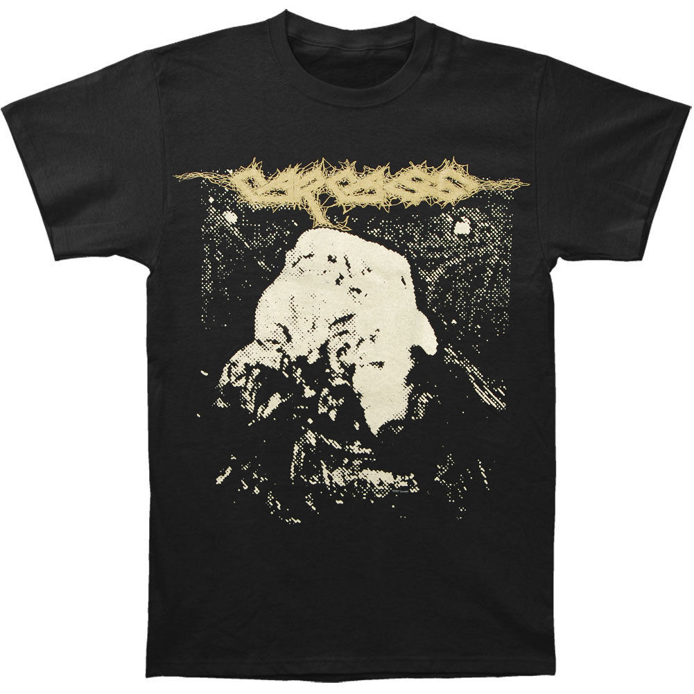 Carcass Mens Symphonies of Sickness T-shirt Black Print T Shirt O-Neck Short Print Tee Men Short Sleeve Clothing TOP TEE