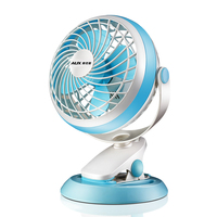 Electric mini student dormitory small Air Circulator usb large wind household quiet table clamp Ventilador table