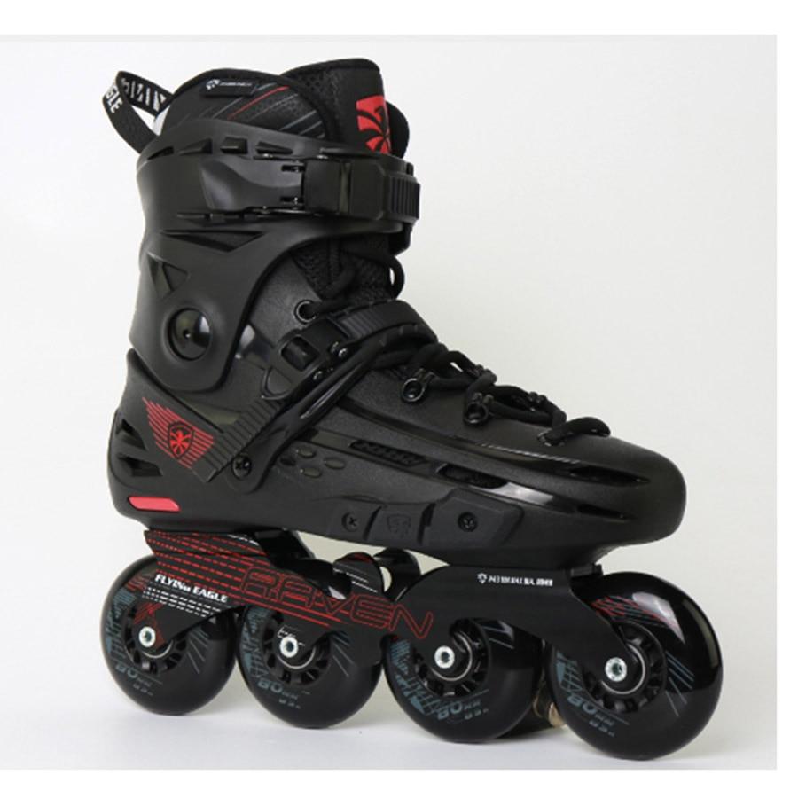 Image 3 - 100% Original Flying Eagle F4 RAVEN Inline Skates Falcon Professional Adult Roller Skating Shoe Slalom Sliding Free SkatingSkate Shoes   -