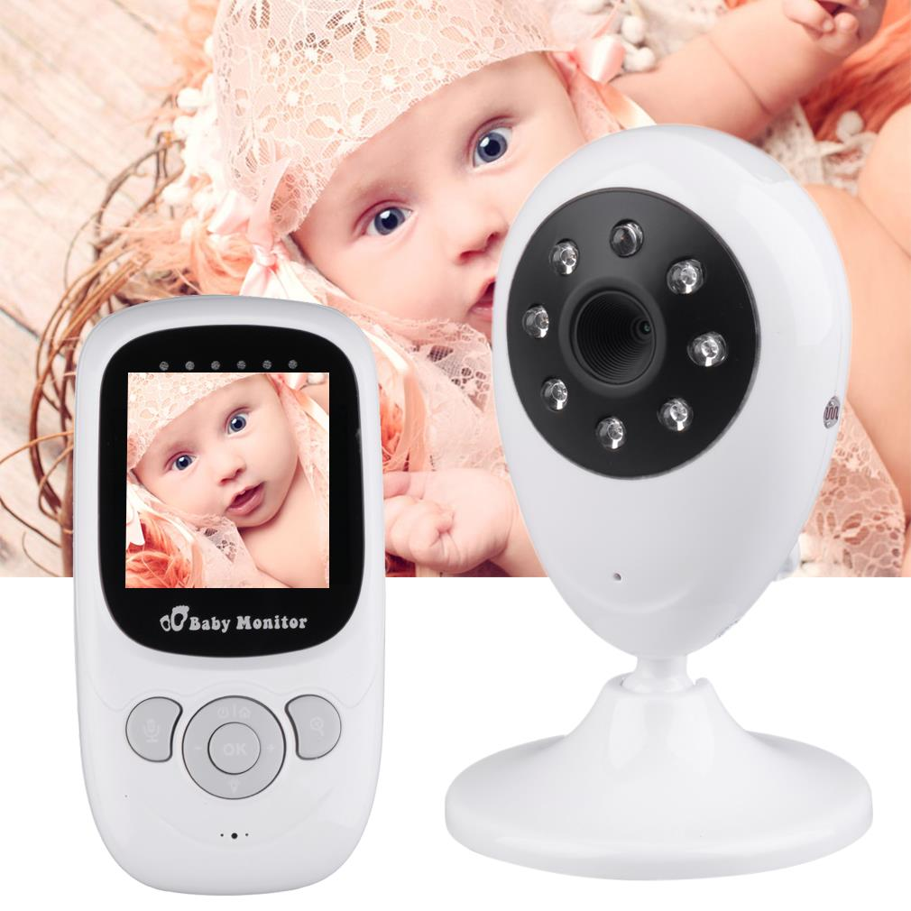 Wireless 2.4 LCD Color Baby Monitor High Resolution Lullabies Kid Nanny Radio Babysitter Night Vision Remote Camera Newborn Gift