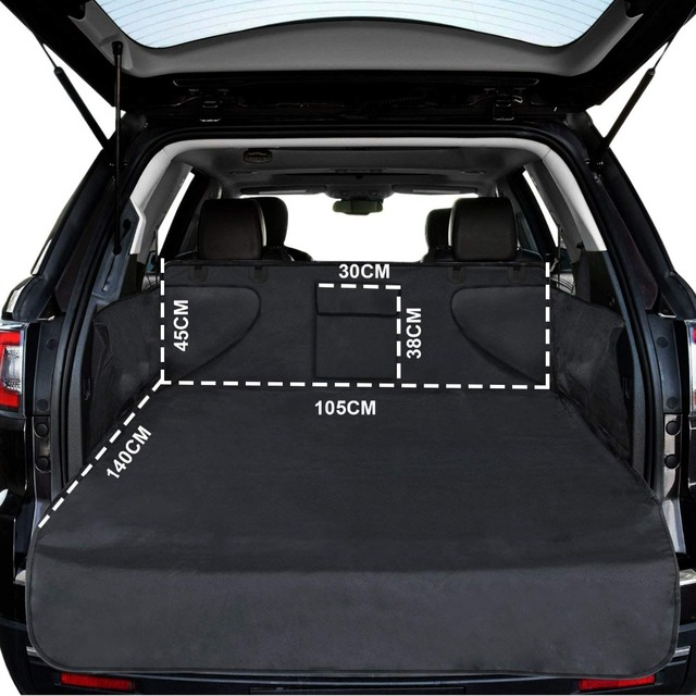 Pet carriers Car Seat Cover Dog Cat Car Back Seat Waterproof Scratch-proof Nonslip Durable Soft Mat Hammock Cushion Protector 1