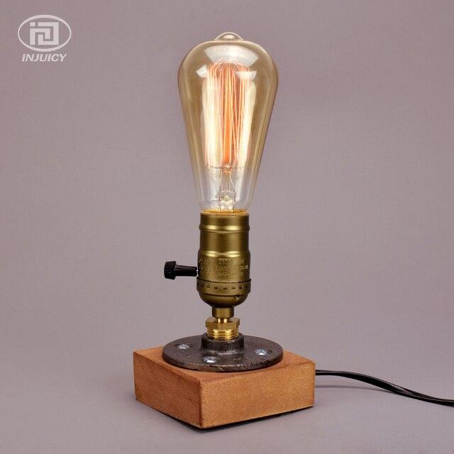 Top vintage industriale edison lampade da tavolo in for Lampade da tavolo design famose