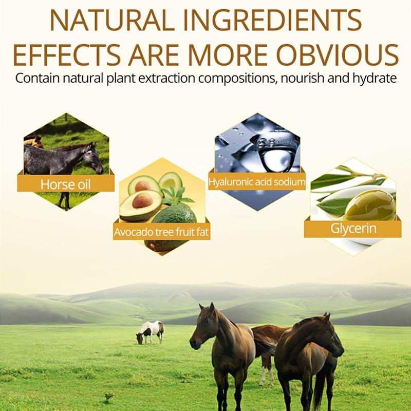 Horse oil Repair hand cream Anti-Aging Soft Hand Whitening moisturizing Nourish Hand Care Lotion Cream 30g IMAGES Pakistan
