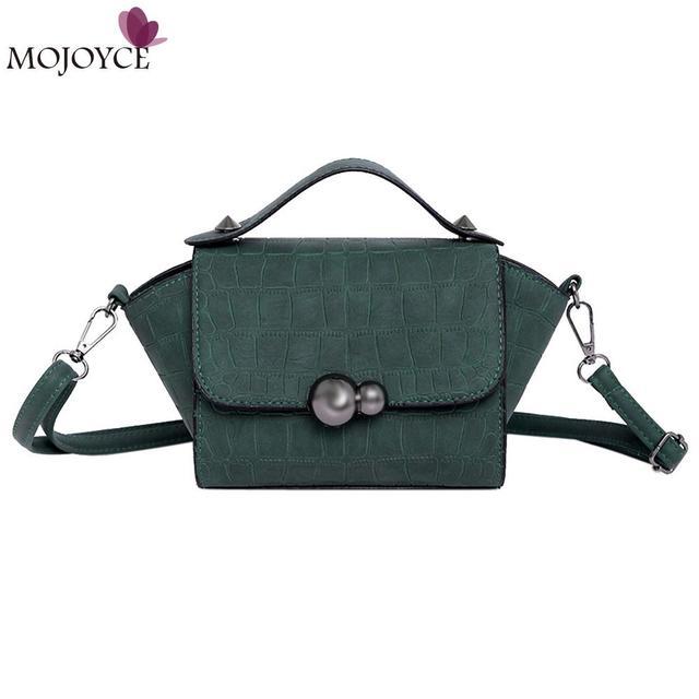 2018 Vintage Women Messenger Bags Retro Nubuck Leather Handbag Women  Shoulder Bag Small Trapeze Tote Feminina Blusas Mujer 0c85ce5f077bd