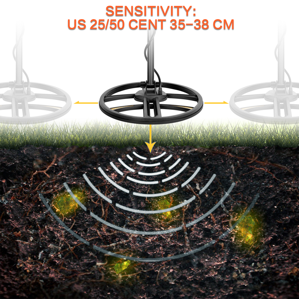 new underground detektor logam pencarian scanner pinpointinter kabel
