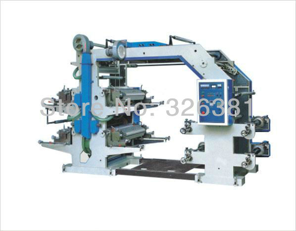 41200 full automatic non woven fabric flexographic printing machine Flexo Printing Machine PE Letterpress printing machine