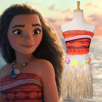 Deluxe Moana Girls and Women Fancy Dress Hawaiian Book Day Kid Childs Women Costume
