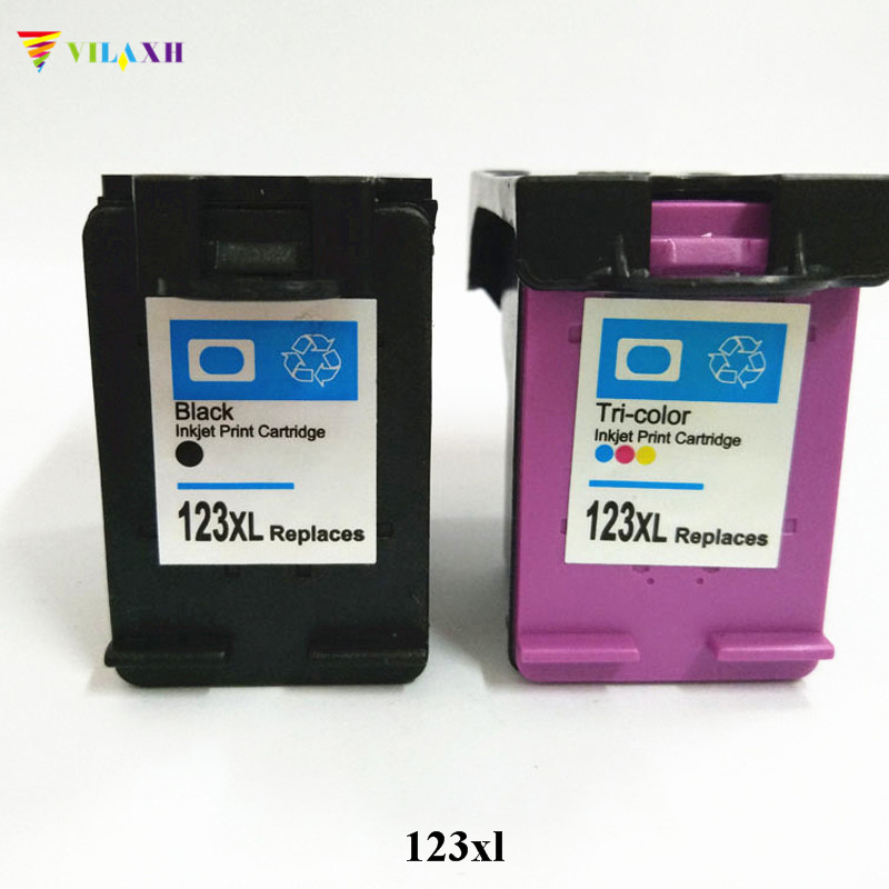 Vilaxh 123 xl Compatible Ink cartridge Replacement for HP 123xl For Deskjet 2130 3630 1110 1112 2132 Printer 2130 3630 cartridge