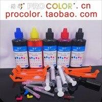 PGI 680 681 CLI-681 for Setup inkjet cartridge Dye ink refill kit for Canon TS9560 TS 9560 9561C 6160 6260 TR 7560 8560 Printer