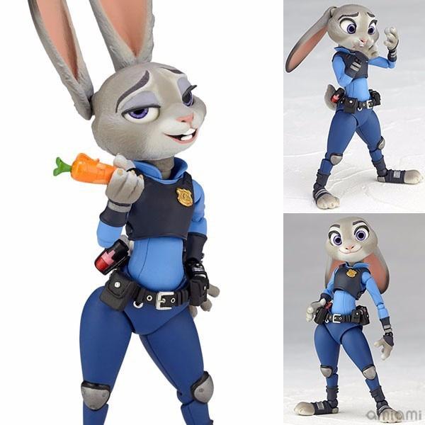 Amazing Yamaguchi Zootopia Rabbit Judy Hopps BJD Figure Model Toys