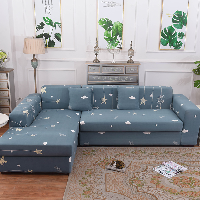 L Shaped Sofa Cover Stretch Sectional
