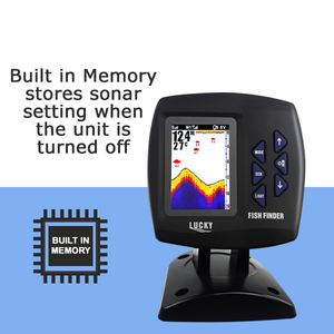 Image 5 - FF918 CWLS LUCKY Color Display Boat Fish Finder Wireless Remote Control 300m/980ft Fishing Wireless Operating Range