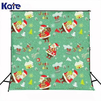 Kate Green Screen Christmas Photography Backgrounds Cartoon Happy Santa Claus Photo Backdrops Camera for Children Photo Studio allenjoy photography backdrops santa claus snow winter kids vinyl digital printing photo props profession christmas backgrounds