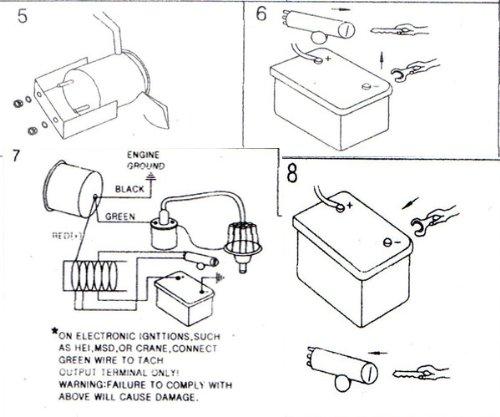 quickcar tachometer wiring diagram