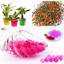 300 pcs crystal puddle plant bubble large beaded potted decorative beads crystal soilless flowers vase decorationHome decor toys(China)