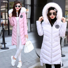 2016 Winter Women Jacket Vogue Down Jacket Rabbit Fur Collar Euramerican Style With Thick Warm