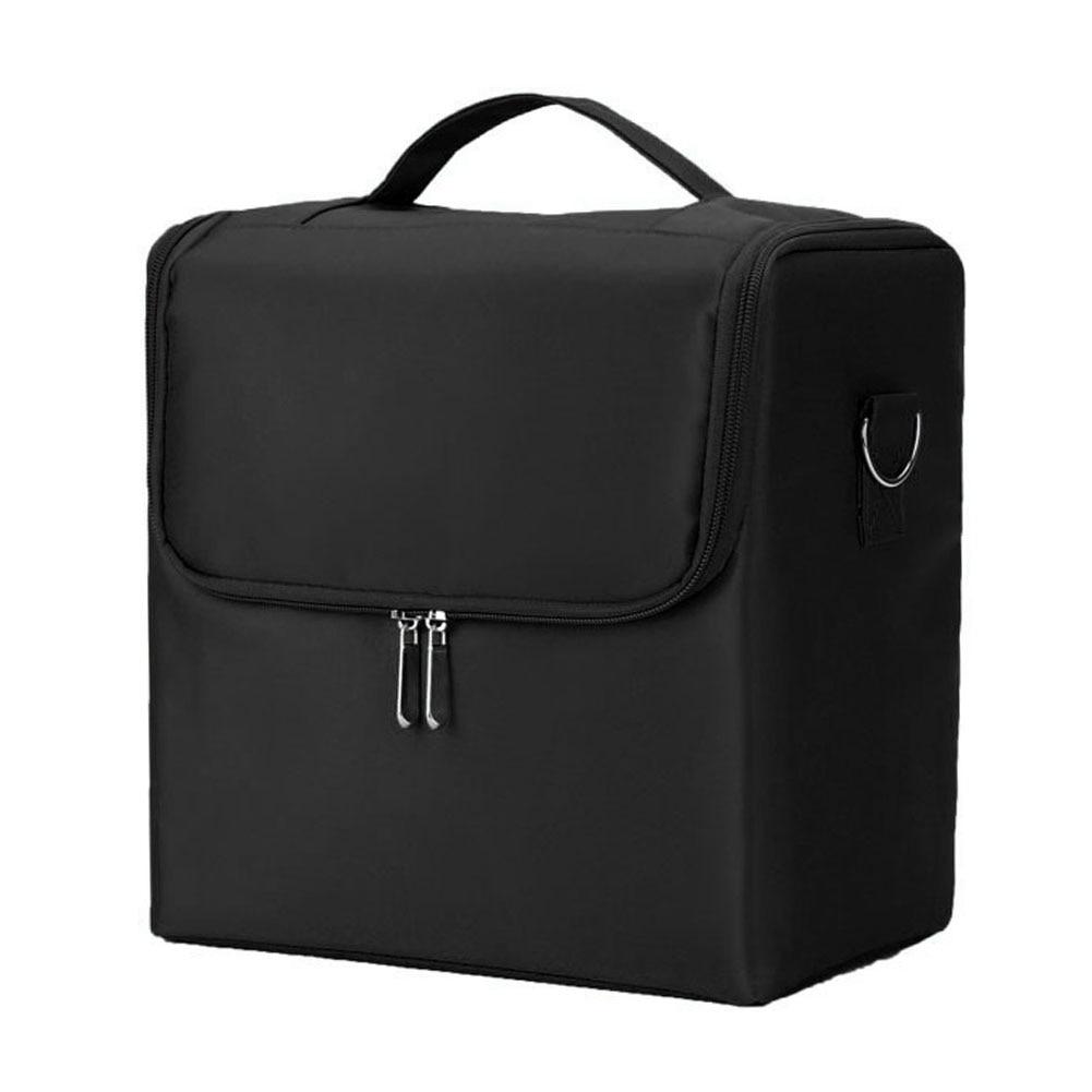 Multilayer Vanity Case Cosmetics Nylon Nail Art Large Capacity Jewellery Professional Makeup Bag Box Portable Organizer Storage