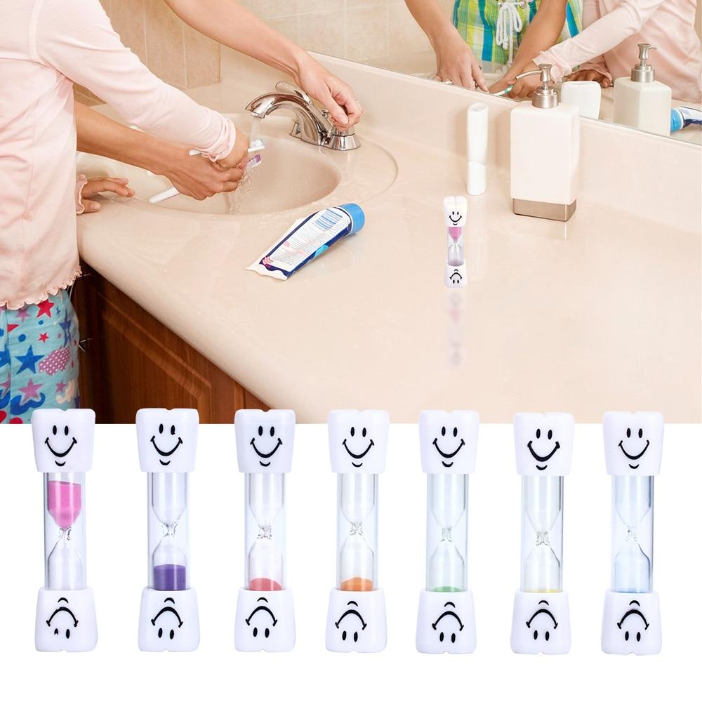 3 минуты Улыбающееся Уход за кожей лица детей Зубная щётка таймер песок часы красочные чистки зубов песочные часы для детей