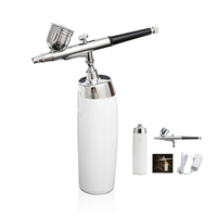 Wireless Airbrush Kit With Rechargeable Airbrush Compressor Big Capacity Ink Cup Spray Pen For Makeup,Nail art,Paint,Cake making