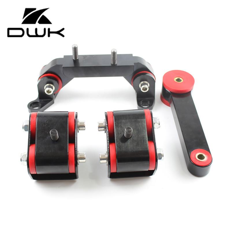 4PCS Engine Trans Motor Mount Pitch Mount for Subaru Forester XT 2004-2013