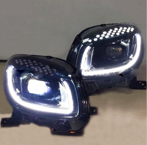 Smart Headlight Led 2pcs Set Car Styling Smart Daytime Light Free