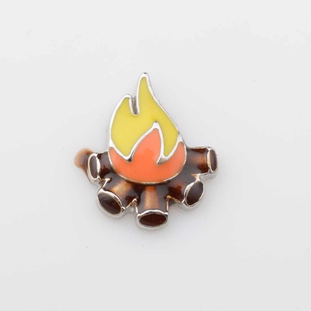 CAMPFIRE, Floating charms,Fit floating charm lockets, FC0417