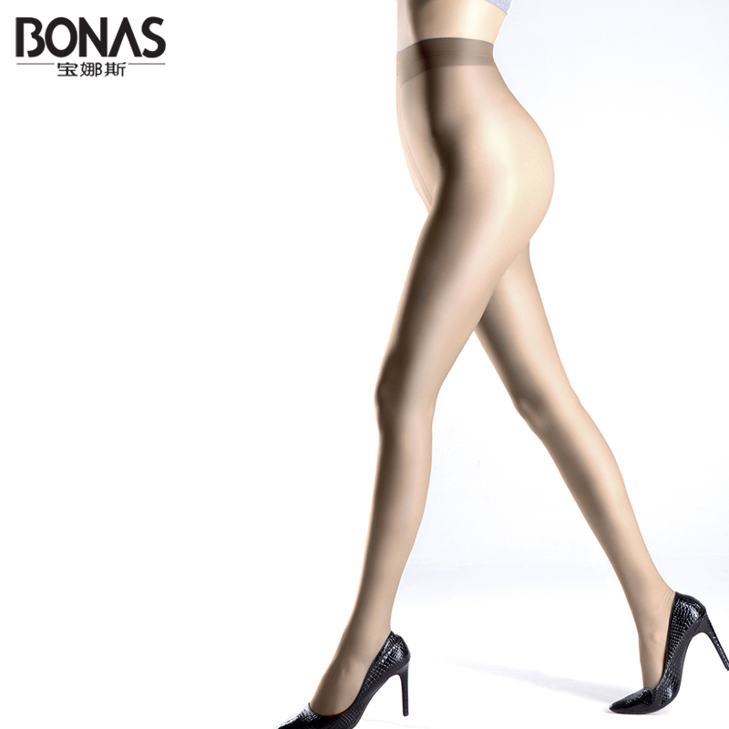 Free Shipping Bonas 2016 Summer Sheer Seamless Pantyhose -1903