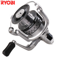 Free Shipping 100 RYOBI Spinning Fishing Reels PILOT1500 6500 Series 6 1BB For Carp Weeve Feeder