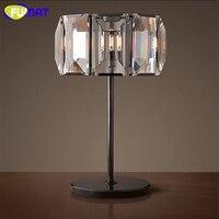 Fumat 현대 크리스탈 테이블 램프 대리석 기본 테이블 라이트 데스크 램프 lustre led 조명 거실 침실 연구실