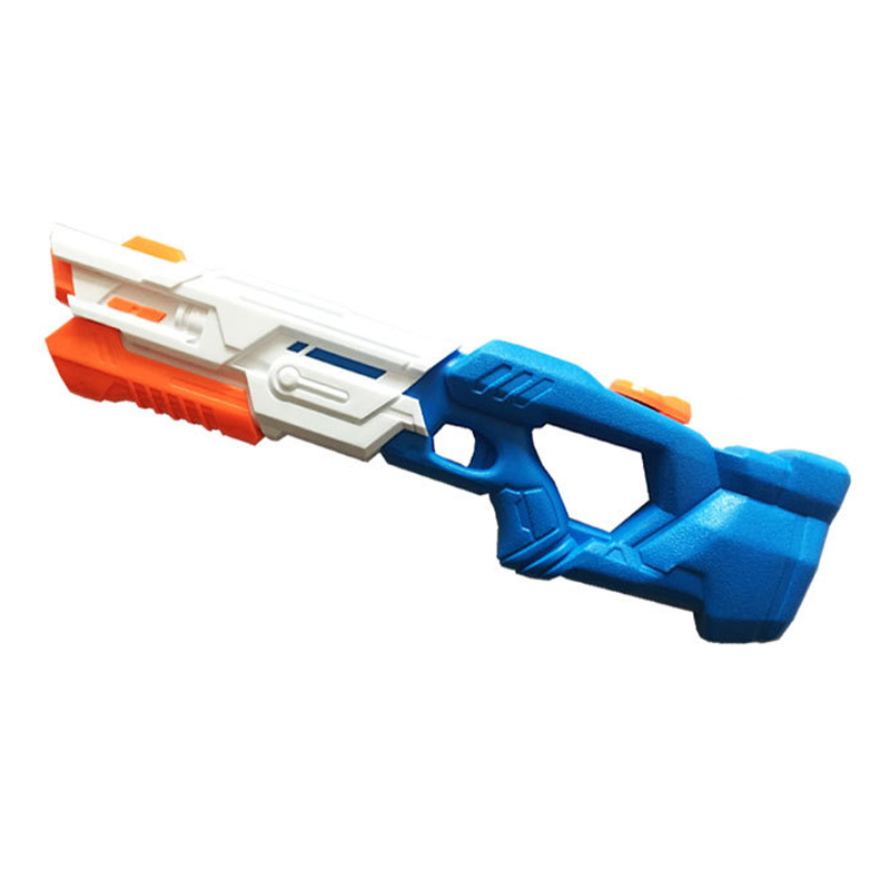 Children's Water Gun Toy Play Water Pull Type Large High Pressure Long Range Space Water Gun Parent-child Toy Gxwj-536